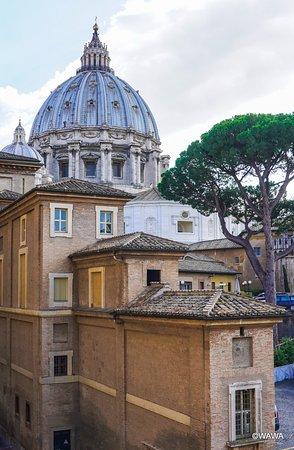 バチカン美術館からクーポラ