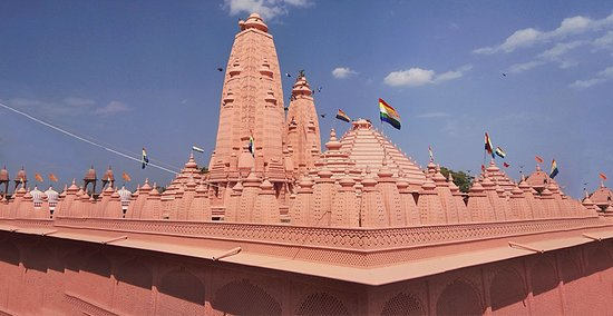 CHANDKHERI ADINATH JAIN TEMPLE, KHANPUR Take a leap into the 17th-century's architectural splendour and religious sanctity by visiting the temple devoted to the first Jain tirthankar(fordmaker), Adinath. It is situated at Chandkheri near Khanpur and has a six feet tall Lord Adinath statue in sitting position. One can easily find traditional meals here along with decent & reasonable accommodation options available within the temple area.