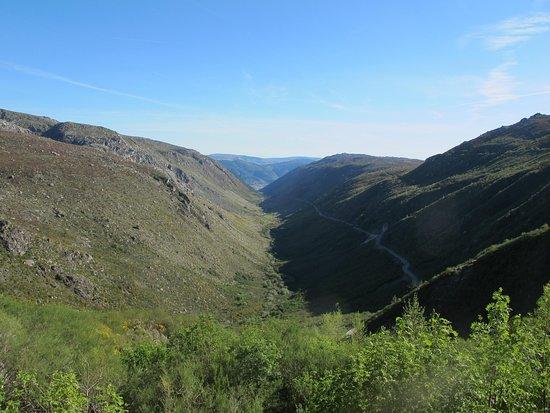 A typical glacier valley