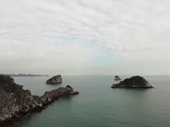 View from monkey Island