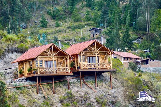 Cuenca, Ekvádor: Another view of the cabins