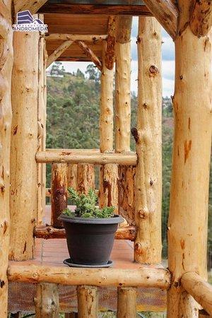 Cuenca, Ekvádor: Private balcony