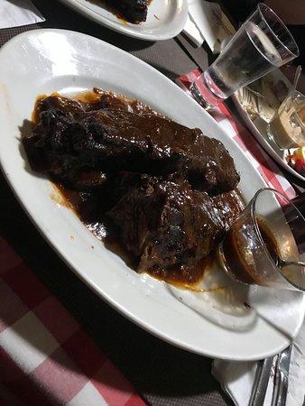 Lara's marinated beef ribs