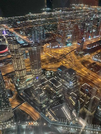 Вид со 125 этажа Бурдж-Халифа