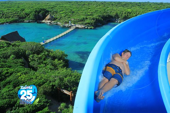 Xel-Há Park All-Inclusive Admission Ticket: water slide