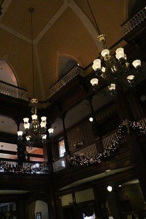 3-Story atrium lobby