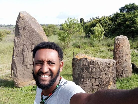 Tiya is among the most important of the roughly 160 archaeological sites discovered so far in the Soddo region, south of Addis Ababa. The site contains 36 monuments, including 32 carved stelae covered with symbols, most of which are difficult to decipher. They are the remains of an ancient Ethiopian culture whose age has not yet been precisely determined.