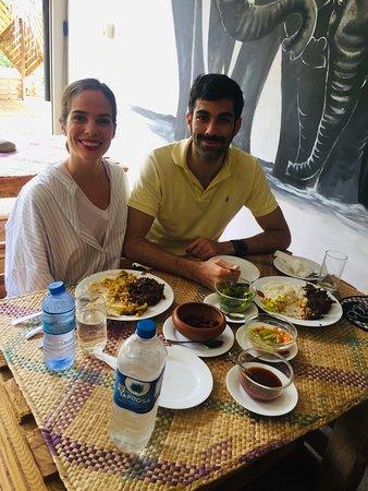 Madawala Ulpotha, Sri Lanka: Opening day 1st customer lunch time good healthy foods