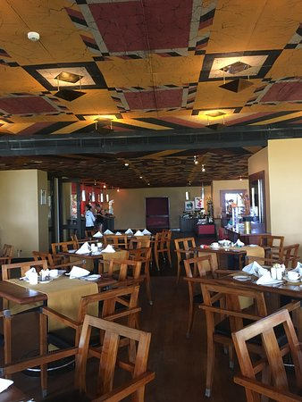 Dining hall at Heritance Ahungalla