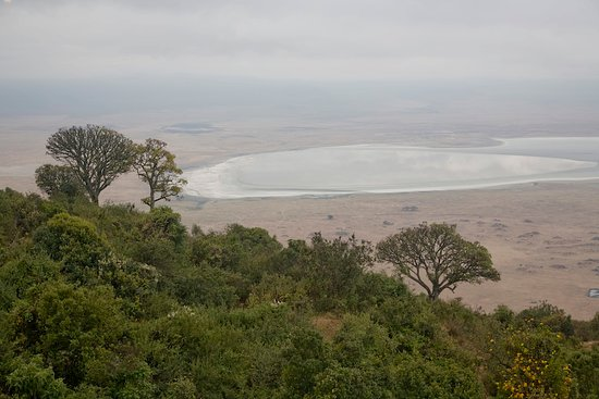 5 Day Tanzania Scenic Luxury Tour: Caldera view most people  like to call it crater view.