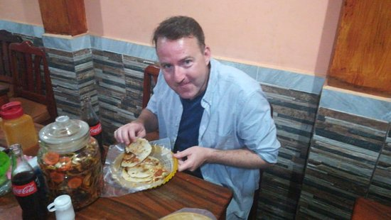 Lay Over Tour pupusas experience