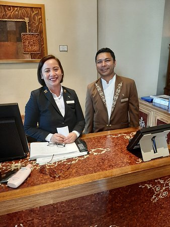 The very professional Concierge Team