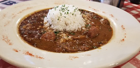 Boutin's Chicken and Sausage Gumbo