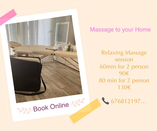Puerto Del Carmen, Espagne : Mobile Massage Service at Lanzarote  Recommended for Holiday Couples ~Friends~Femily