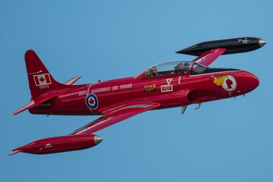 Come to the Jet Aircraft Museum to see Canada's flying Red Knight!! The RCAF Red Knight Demo Team was in operation from 1959 to 1968.