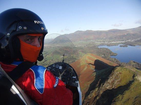 My auto gyro flight