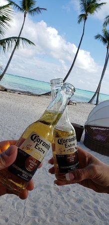 Drinks at preffered bar beach