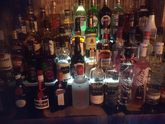 The back bar ..... well one half of it :)