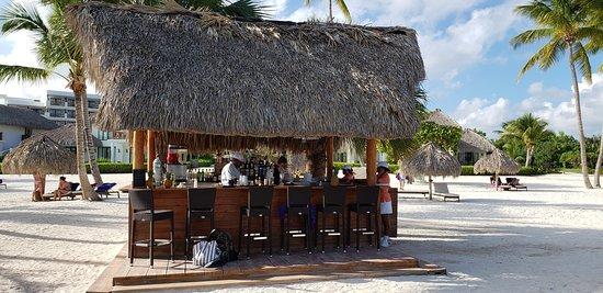 Preferred beach bar at SCC