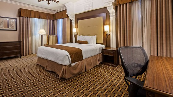 Single King Bed Guest Room