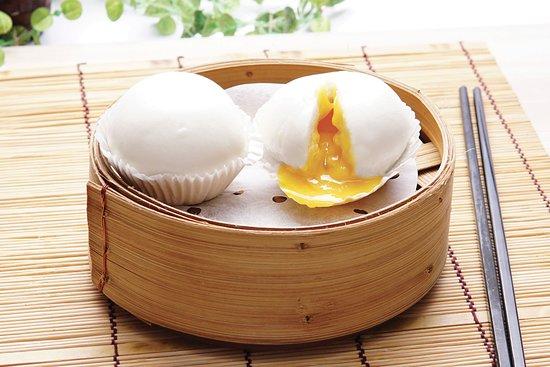 Molten Salted Egg Yolk Custard Bun