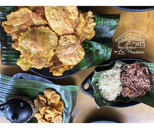 Hacienda La Pradera - Our food