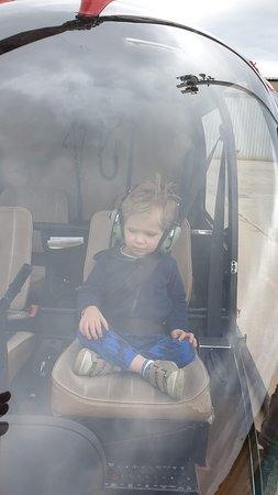 Christian taking over as pilot