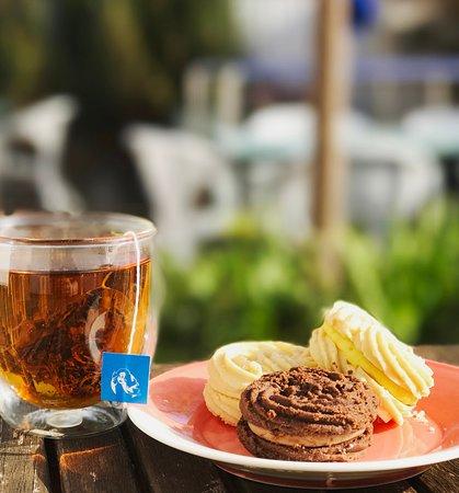 Tea time at Mahalia Coffee