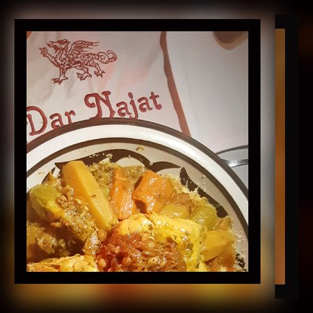 """ #DarNajatKitchen  "" Best Royal Couscous in Marrakech """