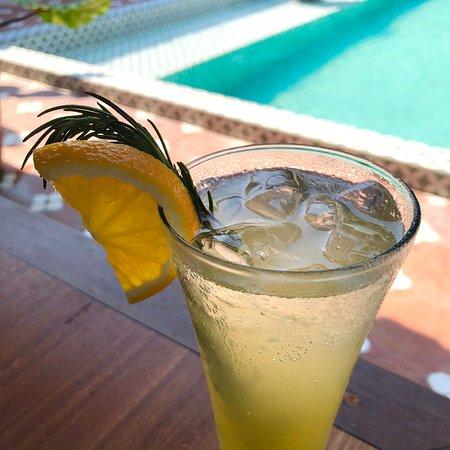 Orange Ginger Mimosa - Mocktail