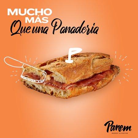 Panem es Mucho más que una Panadería. Aquí encontrarás una amplia variedad de Sándwiches y Tortas.