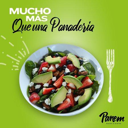 Panem es Mucho más que una Panadería. Aquí encontrarás una amplia variedad de Ensaladas.