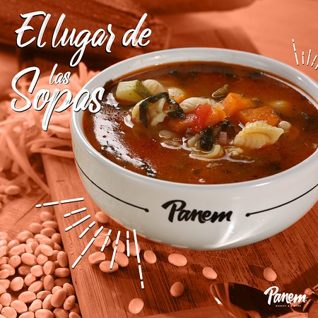 Panem es el Lugar de las Sopas. Todas hechas desde cero con ingredientes frescos, naturales y de la mejor calidad.