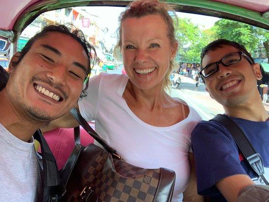 Enter the Hidden Dragon -A Bangkok Food Adventure: Tuk Tuk to the next destination