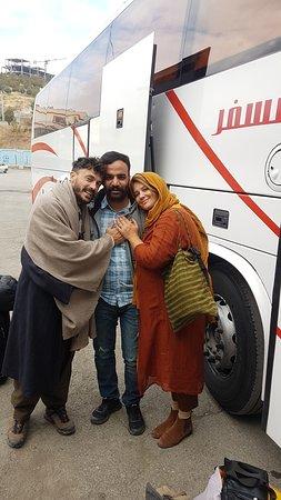 Kordestan Province, איראן: dear french friends in Kurdistan