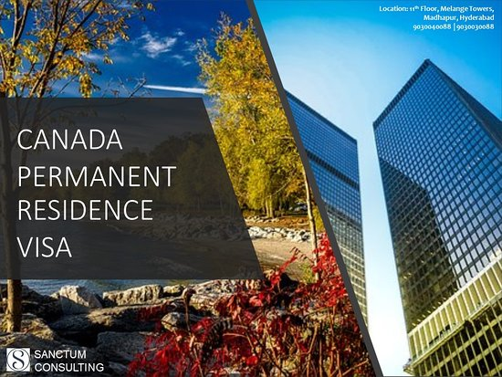 Are you planning to take a step ahead to apply for Canada permanent residence visa? Grab the right opportunity to start your PR application under Canada Express Entry Program. For visa and immigration queries, reach Sanctum Consulting on the 11th floor, Block A, Melange Tower, Patrika Nagar, Madhapur. Landmark - Lane beside Pride Honda Showroom, Hyderabad-500081 or you can make a call on 040-40141022, 040-40126633, +91 9030040088, +91 9030030088.