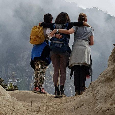 פארו, בהוטן: Veduta sul Tiger's nest
