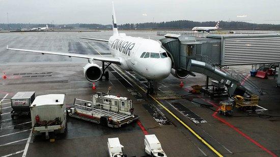 Finnair: A319 at Stockholm Arlanda