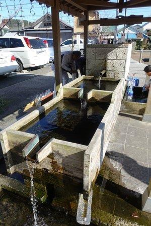 久留里・観光案内所前の井戸