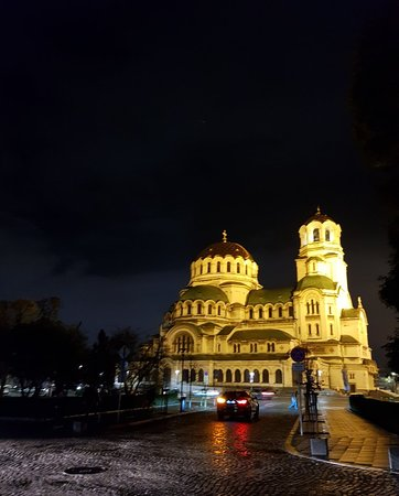 St Alexander Nevsky Cathedral in Sofia Center district
