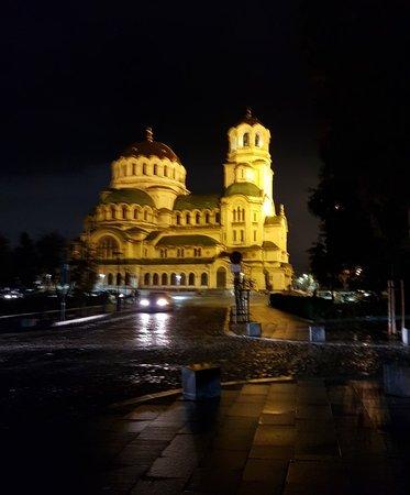St Alexander Nevsky Cathedral, Sofia Center district.