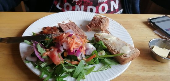 Nether Stowey, UK: Mike's liver pate, which apparently was excellent