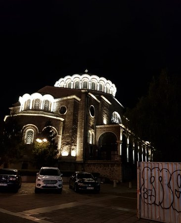 Catedral De Sveta Nedelya in Sofia Center.