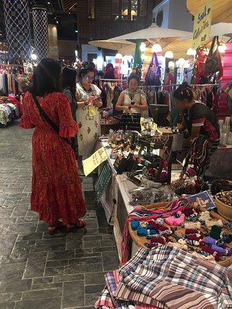 Iconsiam Hill tribe market Bangkok