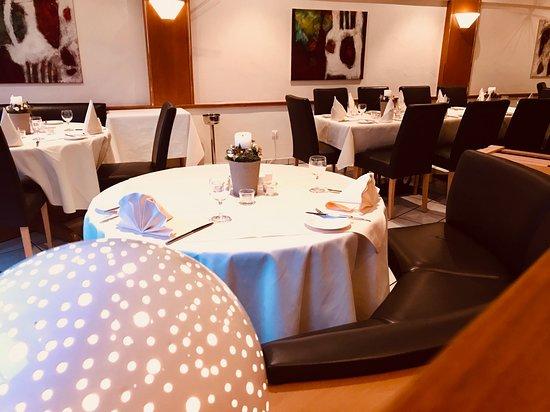 Le Marron Restaurant - Dezember 2019 - Dekoration und Ambiente
