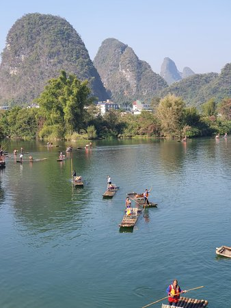 Yulong River in Yangshuo