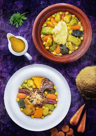 Argan - Vegetable Couscous and Royal Couscous