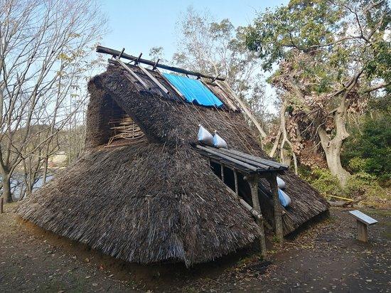 Sodegaura, Japan: 奈良時代の竪穴式住居