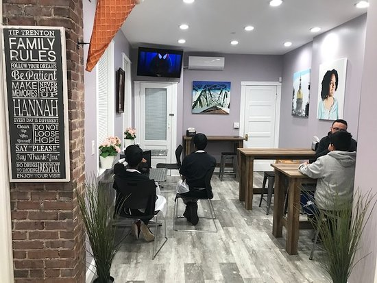 A few pictures of the Trenton Ice Cream Parlor located at 969 South Broad Street, Trenton, New Jersey 08611. @tiptrenton Facebook: http://www.trentontips.com Seating area/Events area