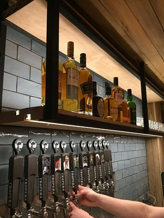 Barra de whisky&Single Malt